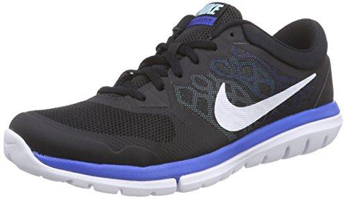 Nike  Flex 2015 Rn, Scarpe sportive, Uomo, Multicolore (Black/White-Copa-Blue Lagoon), 44