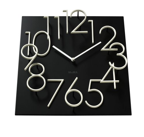 Moma Glow in the Dark Wall Clock