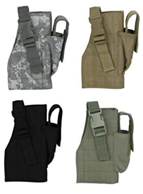 Voodoo Tactical Pistol Holster w/ Attached Magazine Pouch