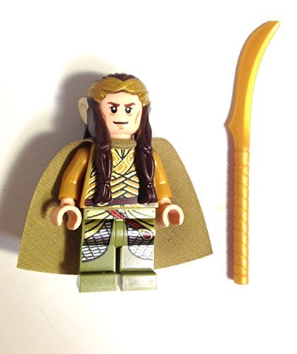 Lego The Hobbit - Elrond Minifigure (loose)
