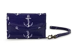 All For Color Anchors Away Smart Phone ID Wristlet
