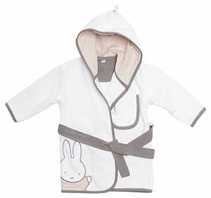 Bebe-jou 301679 Miffy - Albornoz, color blanco y natural marca bébé-jou