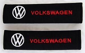 Volkswagen Car Seat Belt Covers Shoulder Pads Pair from Volkswagen