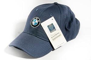 bmw logo genuine baseball cap hat unisex navy blue