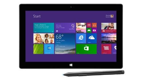 Microsoft Surface Pro2 26,9 cm (10,6 Zoll) Tablet-PC (Intel Core-i5 4200U, 1,6GHz, 8GB RAM, 256GB SSD, Win 8, Touchscreen) schwarz