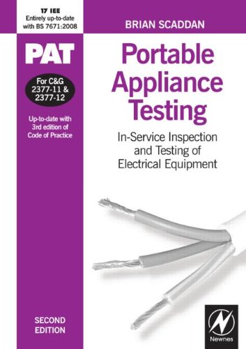 PAT: Portable Appliance Testing, Second Edition: In-Service Inspection and Testing of Electrical Equipment