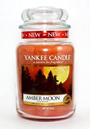 Amber Moon 22oz Large Jar Yankee Candle by Yankee Candle Company