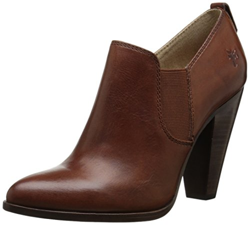 FRYE Women's Remy Slip On Boot, Redwood Smooth Oiled Veg Leather, 7.5 M US
