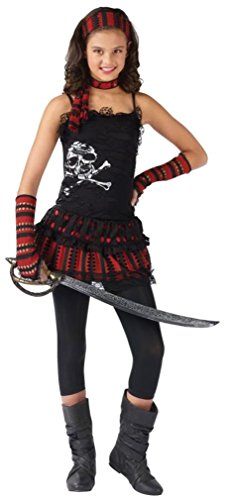 Skull Rocker Pirate Costume - Small