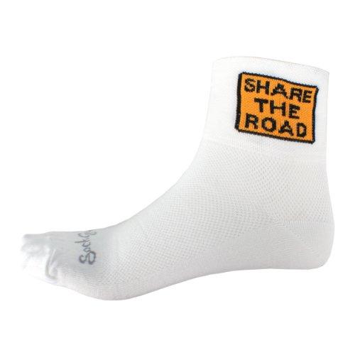 Image of Sock Guy Share the Road Socks S / M (B003CCBM7I)