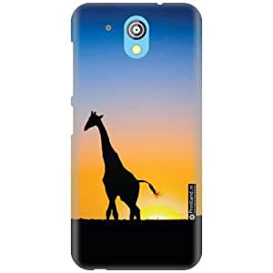 Printland Designer Back Cover for HTC Desire 526G Plus - Animal Print Case Cover