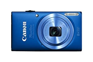 Canon PowerShot ELPH 115 IS 16.0 MP Digital Camera with 8x Optical Zoom with a  28mm Wide-Angle Lens and 720p HD Video Recording (Blue)
