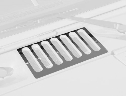 Rugged Ridge 11117.05 Stainless Hood Vent Cover