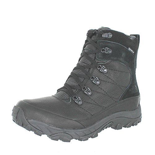 The North Face Men's Chilkat Leather TNF Black/TNF Black Boot 10.5 D (M)