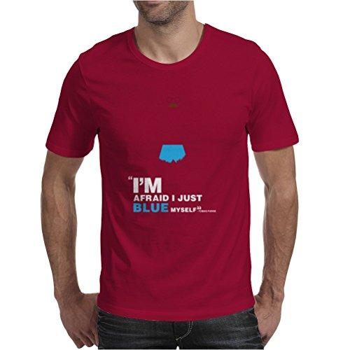 Tobias Funke Mens T-Shirt Burgundy / Large