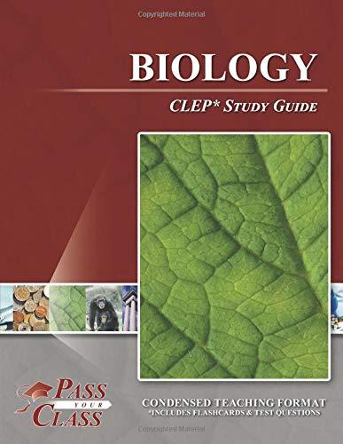 Biology CLEP Test Study Guide [PassYourClass] (Tapa Blanda)