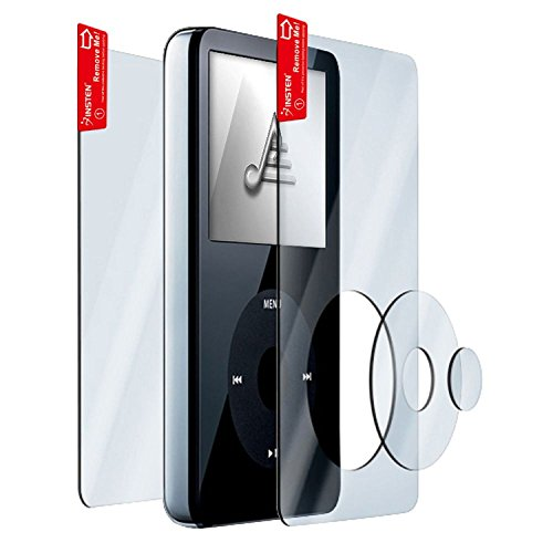eForCity 3x Clear Screen Protector for 30GB/60GB/80GB iPod Video ipod video 30gb 60gb 80gb lcd screen original