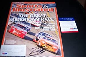 Tony Stewart,casey Mears Psa Signed Sports Illustrated - Autographed NASCAR Magazines by Sports Memorabilia