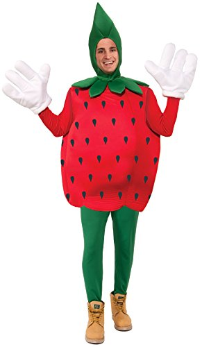 Forum Novelties Strawberry Costume, Red, Standard (Fruits And Vegetables Costume compare prices)