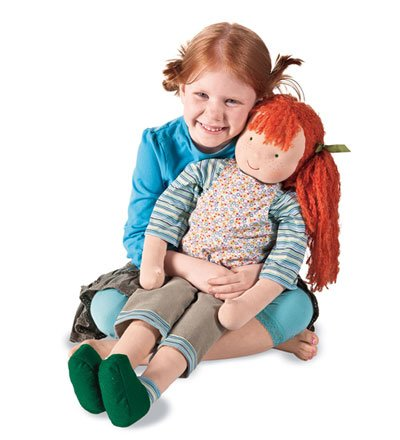 Kathe Kruse Heirloom-Quality It'S Me! Life-Size Waldorf Doll, In Annie front-520051