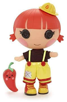 Lalaloopsy Littles Doll, Ember's Little Sister - Red Fiery Flame by Lalaloopsy (English Manual)