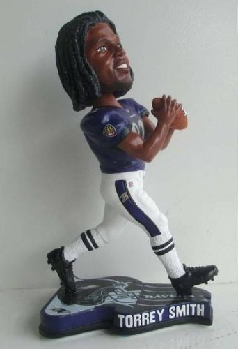 Torrey Smith Baltimore Ravens 2013 Pennant Base NFL Bobblehead
