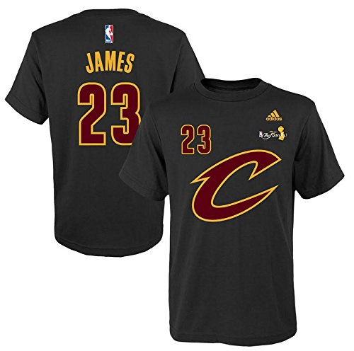 LeBron James Cleveland Cavaliers #23 Youth NBA 2016 Finals Player T-Shirt (Youth Small 8) (Nba Clothing compare prices)