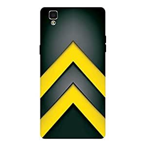 GripIt Yellow Army Strips Case for Oppo F1