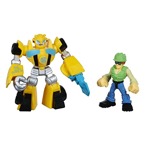 Playskool Heroes Transformers Rescue Bots Bumblebee and Graham Burns Figure Pack - 1