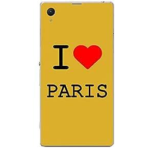 Skin4gadgets I love Paris Colour - White Phone Skin for XPERIA Z1 COMPACT (M51w)