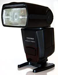 Yongnuo YN560-II-USA Speedlite Flash for Canon, Nikon, Olympus, Pentax, GN33, LCD Display, US Warranty (Black)
