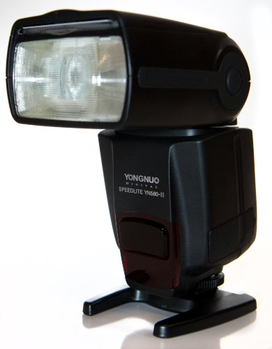 Yongnuo YN560-II-USA Speedlite Flash for Canon, Nikon, Olympus, Pentax, GN33, LCD Display, US Warranty (Black)