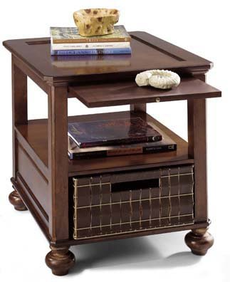 Buy Low Price Eddie Bauer Hunts Point Leg End Table By Lane Furniture B002o0nwy0