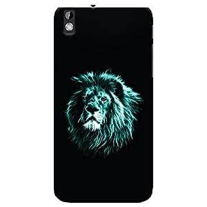 ColourCrust HTC Desire 816 Mobile Phone Back Cover With Lion Animal Art - Durable Matte Finish Hard Plastic Slim Case