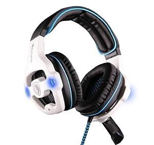 SADES SA-903 7.1 Sound Effect USB Gaming Headset Headphone Earset Earphone with Microphone