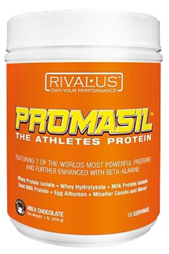 Rivalus - Promasil The Athletes Protein Milk Chocolate - 1 Lbs.