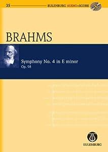 Symphony No 4 In E Minor Op 98 Eulenburg Audioscore Series by Schott & Co