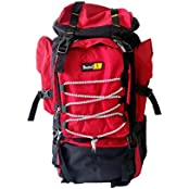 Skyline Red Hiking/Trekking/Traveling/Camping Backpack Bag, Unisex Rucksack Bag With Warranty-2405
