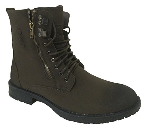 Shan-2 Men's Ankle Boots Military Style Combat Fashion Causa