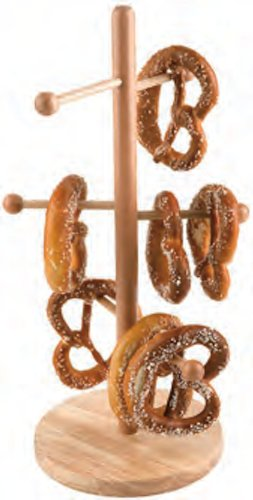 Paderno World Cuisine Beech Wood Pretzel/Sausage Stand (Pretzel Pan compare prices)