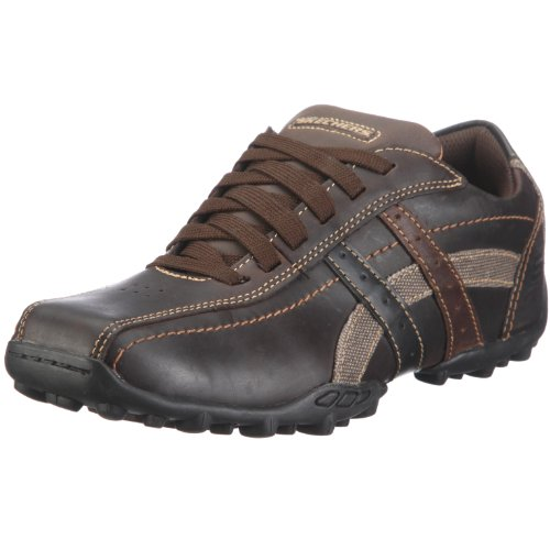 Skechers Mens TALUS ULTIMATUM Chocolate 61181 CHOC 7 UK Regular