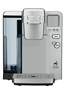 Cuisinart SS-700 Single Serve Brewing System, Silver - Powered by Keurig