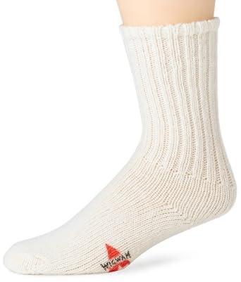 Wigwam Socks Men's Husky Wool Sock -MD White