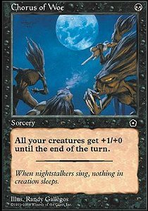 Magic: the Gathering - Chorus of Woe - Portal Second Age by Magic: the Gathering