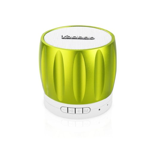 Yoobao Ybl202 Portable Wireless Bluetooth Mini-Speaker With Rechargeable Battery Bulit-In Speakerphone Surpport Tf Memory Card Playing And Radio Function Green