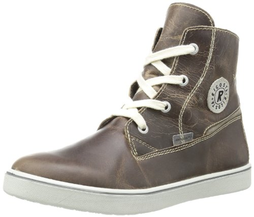Ricosta Boys STIG(M) High Brown Braun (army 565) Size: 2.5 (35 EU)