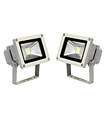Soy Impulse Set of 2 10w High Quality LED Flood Light