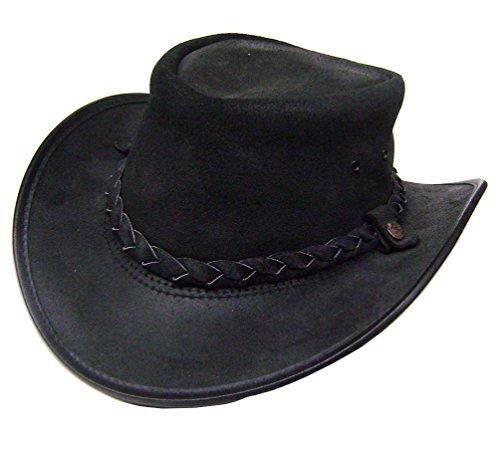 modestone-mens-bc-hat-drover-australian-leather-sombrero-vaquero-xl-black