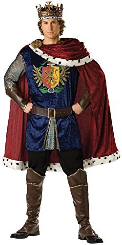Noble King Costume - X-Large - Chest Size 46-48