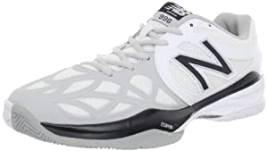 New Balance Mc996 D, Chaussures de running homme - Blanc (Ws White/Silver), 43 EU (9.5 US)